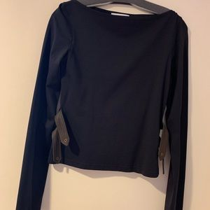 Anne Fontaine top in black size1